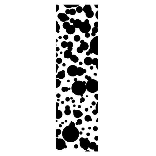 Sticker banner cercuri WLB029