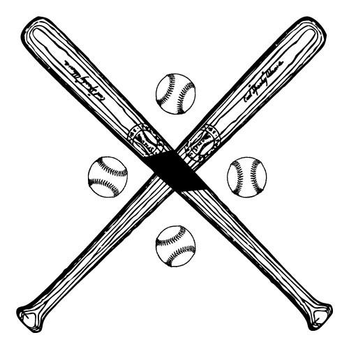 stickere de perete baseball