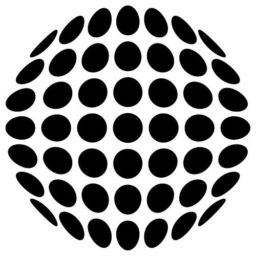 autocolant de perete cerc de cercuri