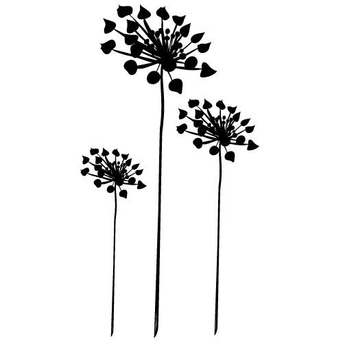 sticker de perete flori