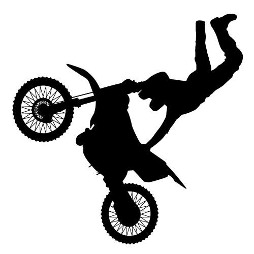 sticker decorativ motorbike