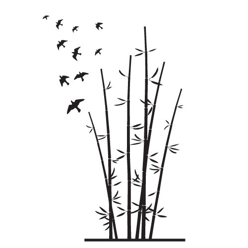 Stickere bambus WLC139