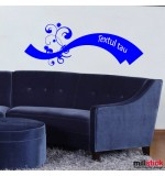 Wall sticker textul tau WLT301