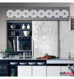 Sticker bordura decorativa WLBD01