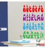 Sticker banner alfabet WCB002