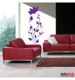 autocolant de perete floare cu boboci