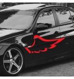Sticker masina WM0003