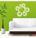 Wall sticker textul tau WLT307