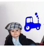 Sticker tractor WCM208