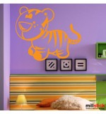 wallsticker decorativ tigrisor