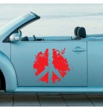 Sticker masina WM0013