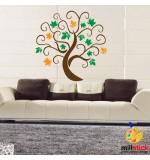 Sablon copac cu frunze SLC313