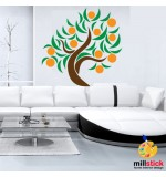 Sablon copac portocal SLC314