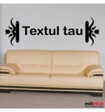 Sticker textul tau WLT316