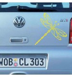 Sticker masina WM0016