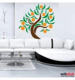 stickere de perete decorative portocal