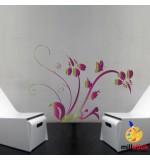 Sablon de perete floare SLF117