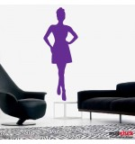 wall sticker trendy women