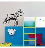 Sticker caine fox terrier WCC018