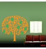 Sticker copac cu pere WLC316