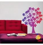 Sablon copac cu flori SLC318