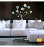 Sablon de perete floare SLF322