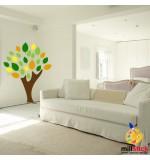 Sablon copac cu frunze SLC323