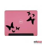 Sticker laptop fluturi WL0029