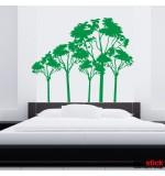 autocolante decorative copaci