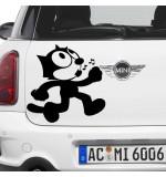 Sticker masina WM0039