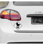 Sticker masina WM0043