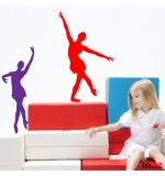 stickere de perete balerine