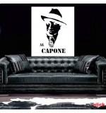 autocolant de perete Al Capone