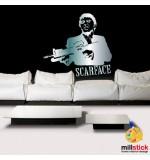 Sablon de perete Al Pacino SLCB01