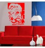 Wallsticker decorativ Albert Einstein