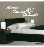 Sticker always kiss me goodnight WLT105
