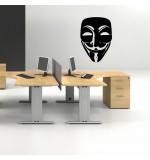 autocolant de perete anonymous