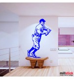 wallsticker decorativ jucator baseball