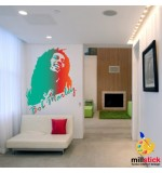 Sablon de perete Bob Marley SLCB06