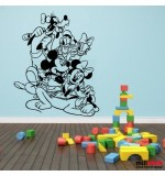 Sticker perete Disney mix WCWD01
