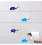 Wall sticker elefant WBF017