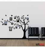 Sticker family photo tree WLC332