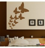 wallstickere decorative fluturasi