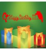 sticker de perete happy birthday