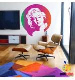 Sablon de perete Marilyn Monroe SLCB16