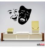Sticker masca WLD041