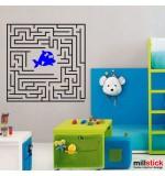 Sticker labirint WCAV46