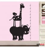 Sticker metru animale zoo WCM304