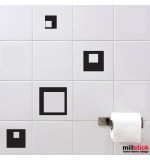Wall sticker patrate WBF022