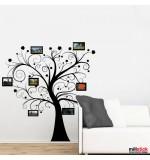 wall sticker decorativ copac cu poze